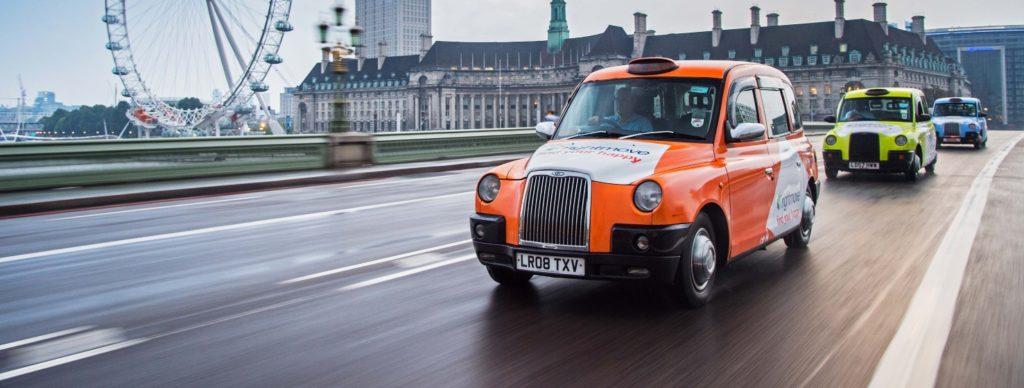 История Лондонского такси