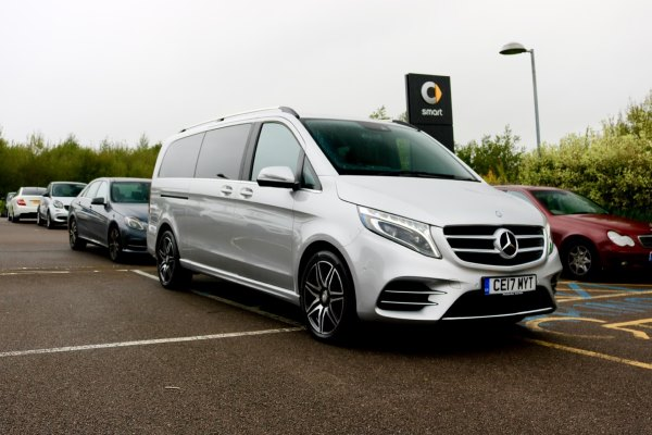 rent Mercedes V class London