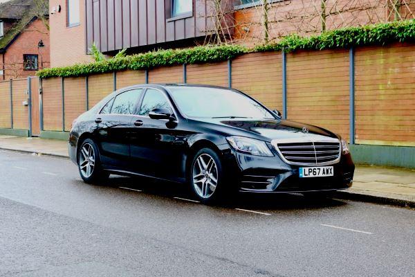 New Mercedes s class 2018 LWB AMG black