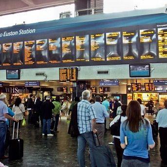 Трансфер на вокзал Euston
