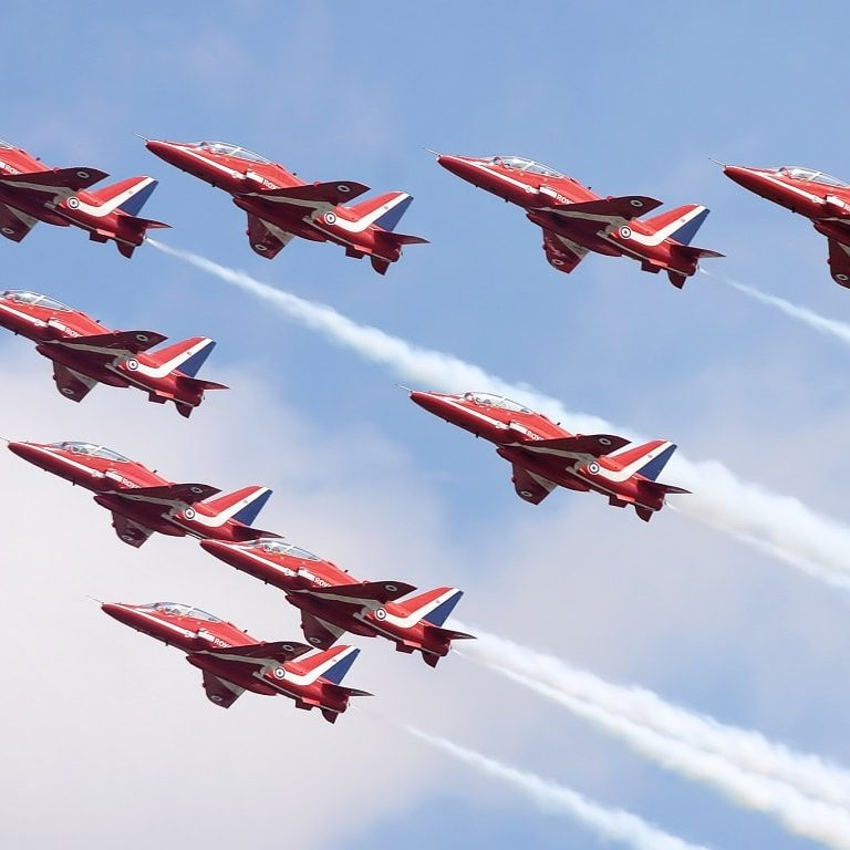 transfer to Cosford Air Show